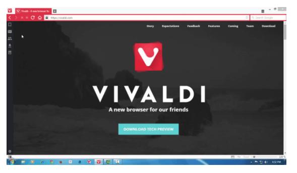 Vivaldi Browser Free Download