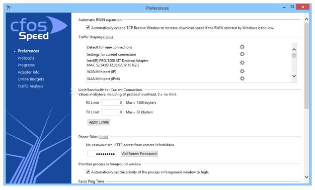 cFosSpeed for Windows Latest